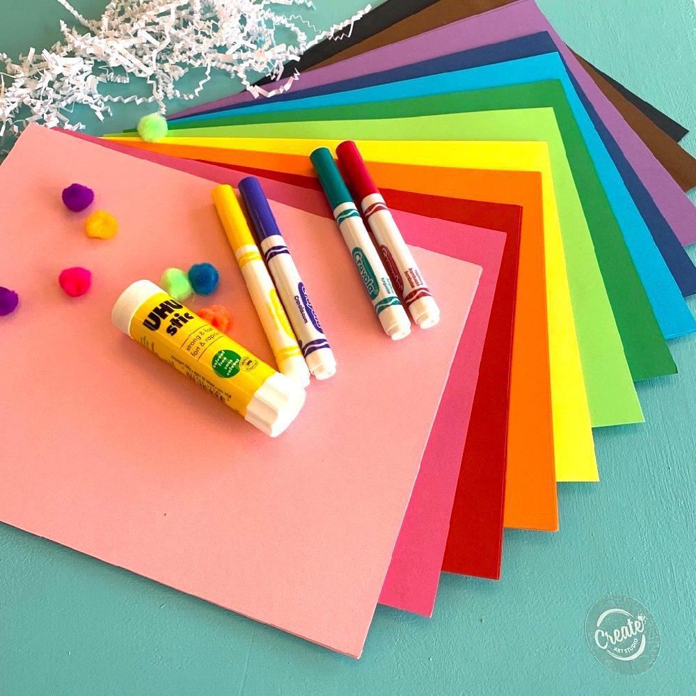 Create Art Studio Art Club Mixed Media Exploratory Class for kids just like 4Cats but better Toronto