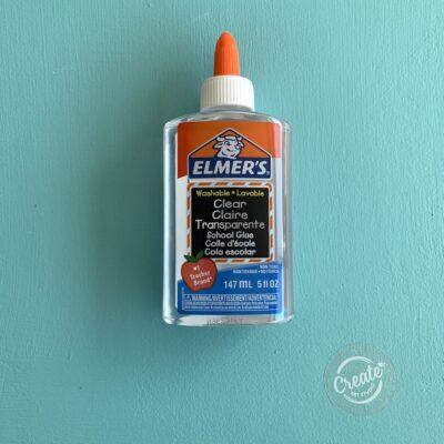 Create Art Studio Elmers Clear Glue bottle 147 ml size washable