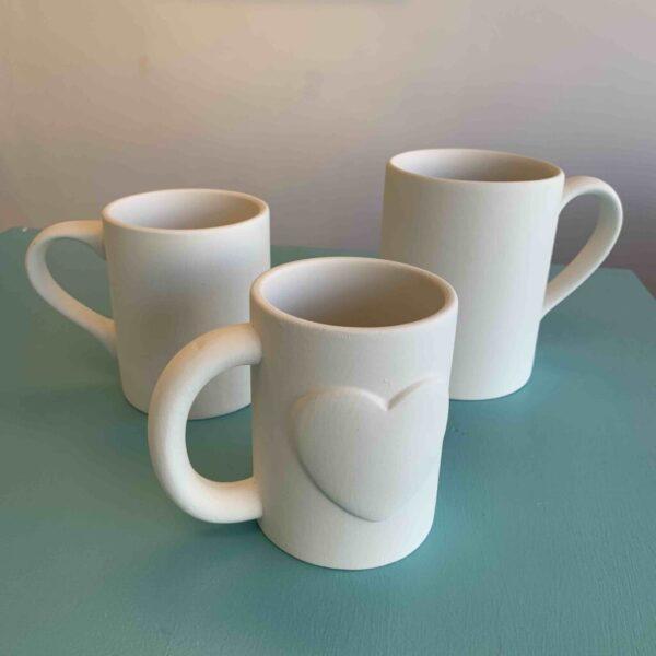 Create Art Studio Ceramics Painting Love Mug