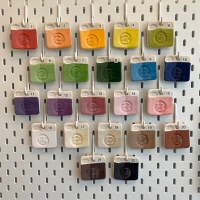 Create Art Studio underglaze colour selection for pottery and ceramics at home kits