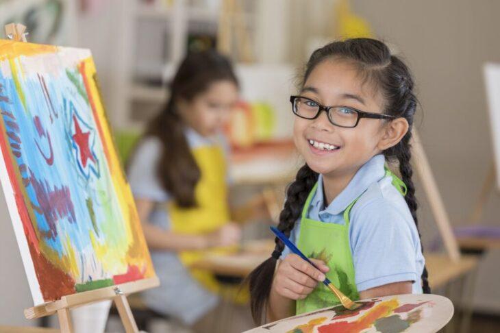 Create Art Studio Remote Learning education support program