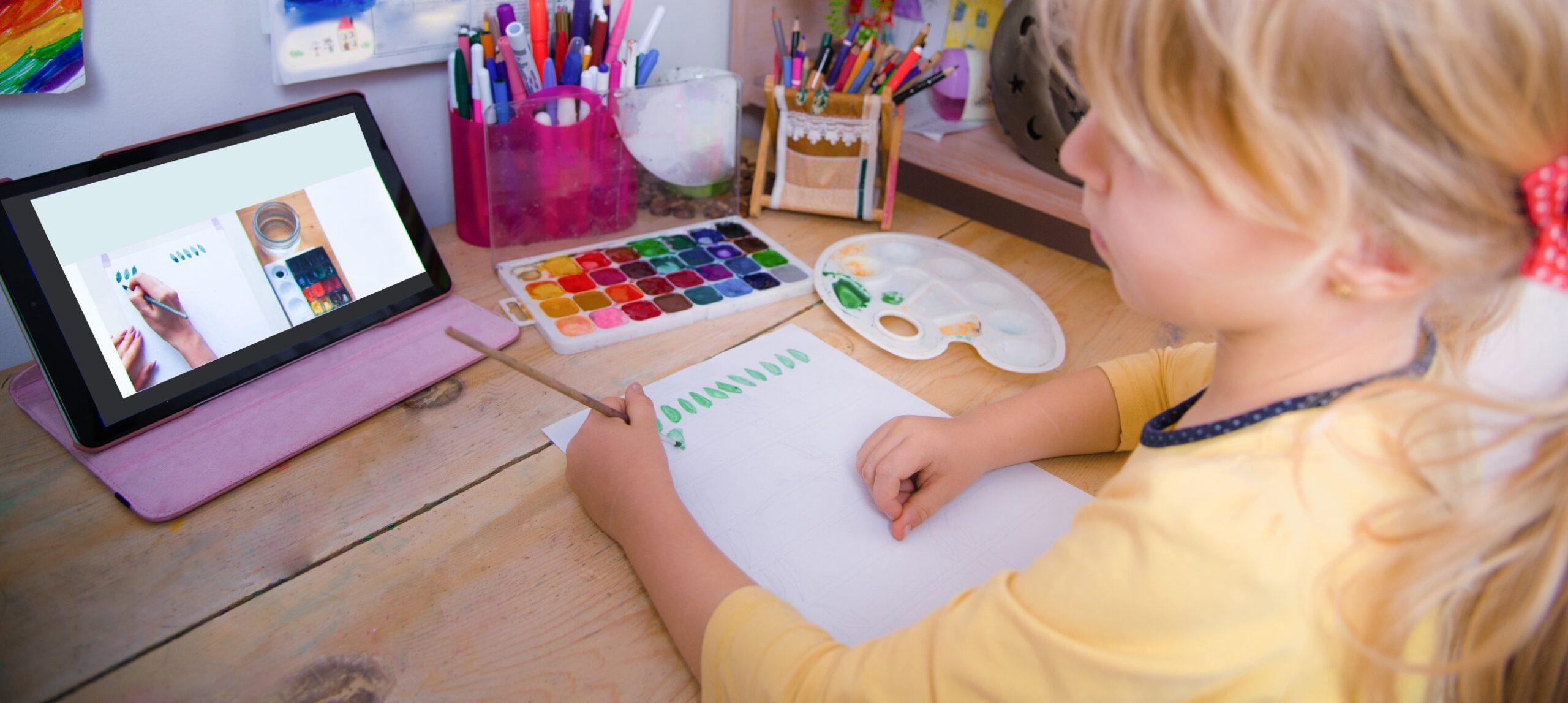 Create Art Studio Online Summer Art Camp for Kids