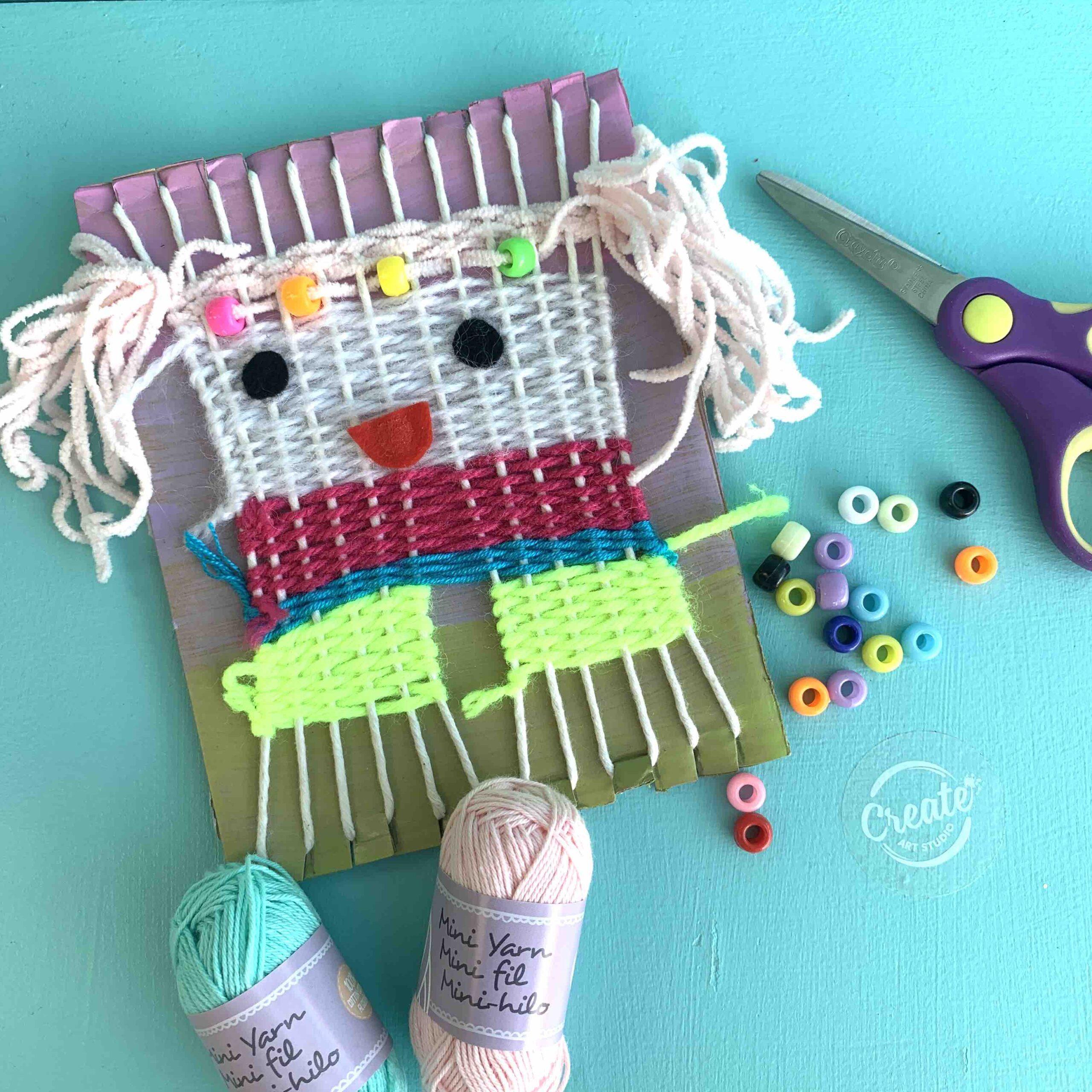 Create Art Studio Weaving Art DIY Breakfast Television Camp BT
