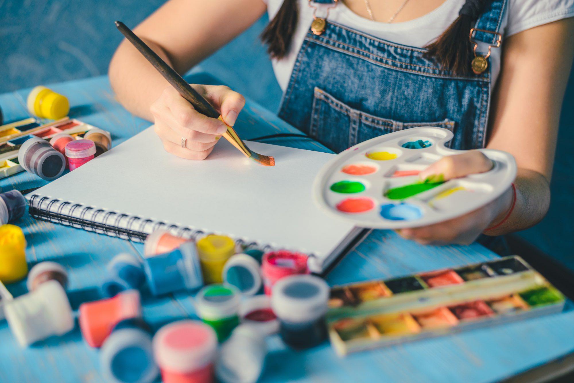 Create Art Studio Online Tween Art Camp