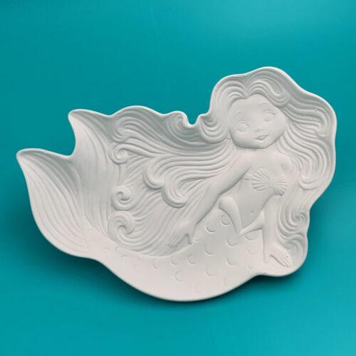 Create Art Studio Ceramics Mermaid Dish