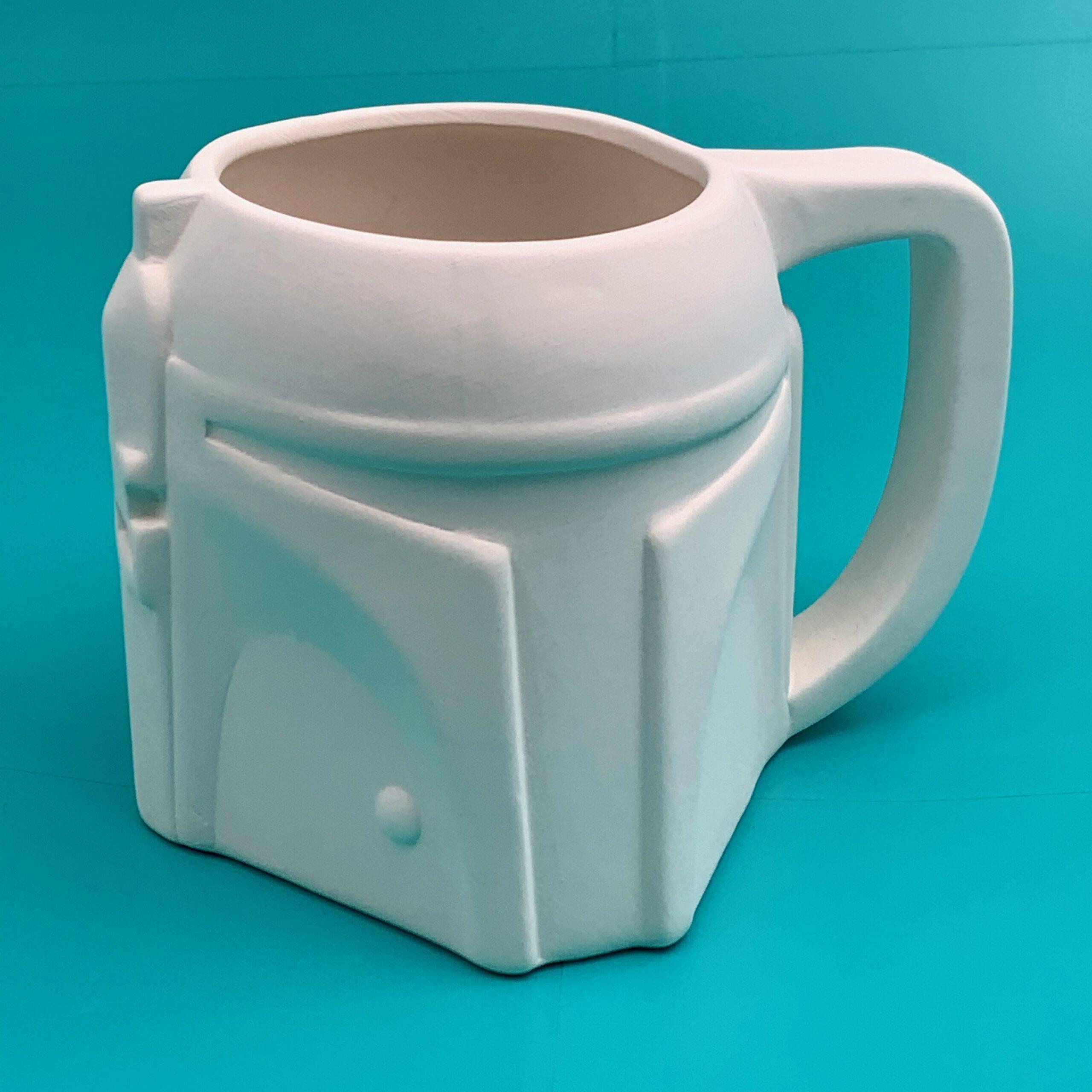 Create Art Studio Ceramics boba fett mug