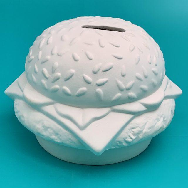 Create Art Studio Ceramics Hamburger moneybox